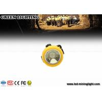 Wholesale Yellow Wireless Intrinsically Safe Cordless Mining Lights 2.2ah Li - Ion Battery , PP Meterial from china suppliers