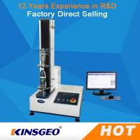 Wholesale Computer 5KN Leather Testing Machine With High Precise Ball Screw Single Column from china suppliers