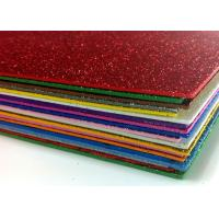 Wholesale 2mm A4 Hot Melt Adhesive Glitter EVA Foam Sheet For EVA Products from china suppliers