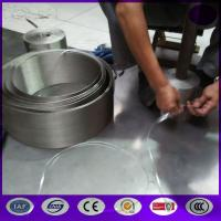 Buy cheap Stainless Steel Continuous Screen Belt for Circular Looms made in China from wholesalers