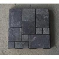 Wholesale Natual Black Slate Flagstone Patio Flooring Pavers Natural Slate Flagstone Wall Cladding from china suppliers