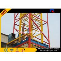 Wholesale Self Erecting Internal Climbing Tower Crane 3t 35m Jib Heavy Construction Equipment from china suppliers