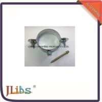 Wholesale Standard Zinc Plated Steel Pipe Clamp Fittings For Fastening from china suppliers