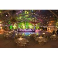 China Aluminum Frame Transparent Marquee Tent , Outside Clear Party Tent Unique Decorations on sale