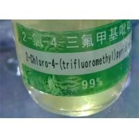Quality 4 Trifluoromethyl Pyridine Pesticide Intermediates CAS 3796-24-5 Yellowish Liquid for sale
