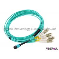 Wholesale MPO To MPO MTP To MTP MPO To LC OM3 Fiber Optic Patch Cord Multimode 8F 12F 24F from china suppliers