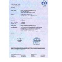 Yixing Xinhongjian Sporing Goods Co.,Ltd. Certifications