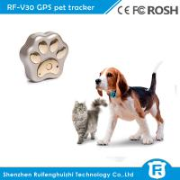 Wholesale RF-V30 smart mini waterproof cow dog cat gps tracker pet with wifi location from china suppliers
