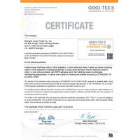 Shanghai Uneed Textile Co.,Ltd Certifications