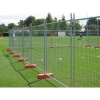 Wholesale Orange Customized Temporary Fence Panels For Environmental Protection Areas from china suppliers