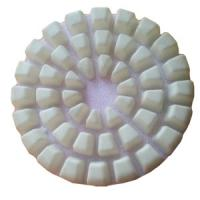 Wholesale High Gloss Dry Diamond Polishing Pads For Marble / Concrete For 9mm from china suppliers
