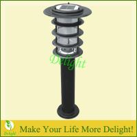 Wholesale Solar Led Garden Pillar Light (DL-SL319-BK) from china suppliers