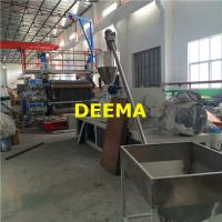 Quality 1220mm PVC Marble Sheet Machine In Stock 400kg/h Capacity 20m*3m*3m for sale