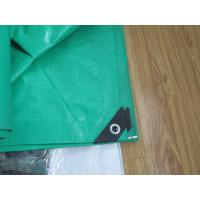 Wholesale 130gsm green waterproof tear resistant PE tarpaulin with reinforcement from china suppliers