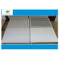 Wholesale Dust - proof Raised Access Floor  Anti Static Airflow  With SPCC Hard Steel from china suppliers