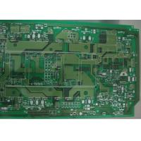 Wholesale Green Single Sided 3 OZ Copper Printed Circuit Board 2 Layer Routing / Punching / V Cut from china suppliers