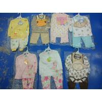 Wholesale Brand new in stock cotton baby clothes discount infant outfits stock-lot  3 piece sets spring cute clothes for 24M kids from china suppliers
