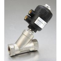 Wholesale PV800 2 / 2 Way Angle Seat Valve For Medium Up To + 180℃ Namur Type Actuator from china suppliers