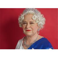 Wholesale England Realistic Wax Figures Of Elizabeth II , Custom Made Wax Figurines from china suppliers