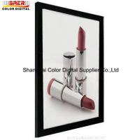 Wholesale Single Side Slim LED Light Box Display With Siver And Black Color from china suppliers