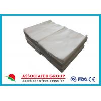 Wholesale Multi-use Dry Disposable Wipes Pure Cotton/Viscose For Personal/Patient Care from china suppliers