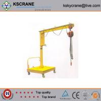Wholesale High Performance 500kg Lifting Movable Jib Crane For Sale from china suppliers