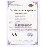 Guangzhou CVR Pro-Audio Co., Ltd Certifications