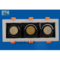 Wholesale 3*10w Multi Recessed Trimless Downlight Grille Lamp Adjustable High CRI 83 Ra from china suppliers