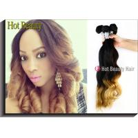 Wholesale Custom Ombre 100 Human Hair Extensions Body Wave Style Tangle Free from china suppliers