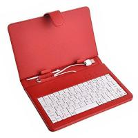 Quality 7 Tablet PC USB Keyboard( red) for sale