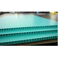 Wholesale Polypropylene / Polyethylene Corflute Board Correx Plastic Sheets For Greenhouse from china suppliers