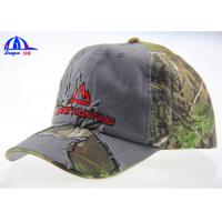 Wholesale 70% Cotton 30% Polyester Camo Baseball Caps from china suppliers
