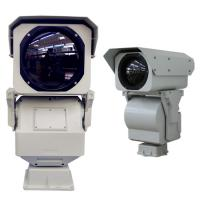 Wholesale High Resolution Long Range Thermal Camera , Anti - Dust Perimeter Security Camera from china suppliers