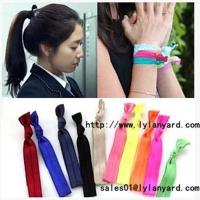 Wholesale Hair Tie Fashion Fold Over Elastic Hair Band from china suppliers