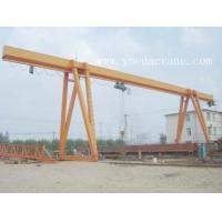 Wholesale Sinlge Girder Electric Hoist Gantry Crane for Low Headroom from china suppliers