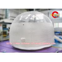 Wholesale Commercial Outdoor Inflatable Transparent Dome Tent / Transparent Bubble from china suppliers