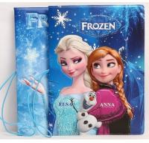 Quality Frozen Elsa Anna 3D Travel Passport Holder for sale