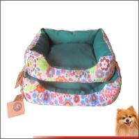 Wholesale Dog beds online Canvas fabric dog beds with flower printed China manufacturer from china suppliers