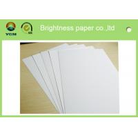 Wholesale Recycled Jewellery Boxes Paper Sheet , Coated Board Paper Folding Resistance from china suppliers