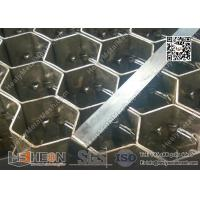 Wholesale AISI304 Hex Mesh Grating with lances | 20mm height X 2mm thk | 3'X10' | China Exporter from china suppliers