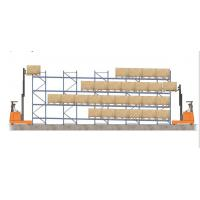 Wholesale high density forklift working gravity flow racks for distribution business from china suppliers