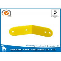 Wholesale Yellow Powder Coated Steel Frame Metal Post Brackets For Monkey Bar from china suppliers