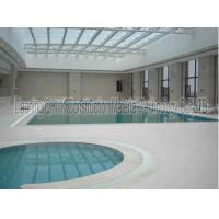 Quality Energy Savings Prefabricated Steel Structures Swimming Pool Roof Covers for sale