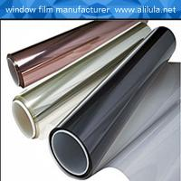 Wholesale High heat rejection self-adhesive PET mirror protective film for building from china suppliers