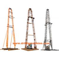 Wholesale Light Weight Drilling Rig Mast  , Oil Drilling Tower With 320KN Max Dead Load from china suppliers