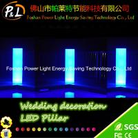 Wholesale 16 Colors Changing Wedding Event LED Pillars Plastic With Remote Control from china suppliers