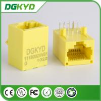 Wholesale Yellow Color 100 Base - TX Unshielded Rj45 Modular Jack DGKYD111B002IWB1D from china suppliers
