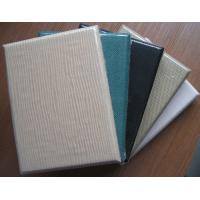 Buy cheap Eco Clothing Fabric Acoustic Panel  For Walls Meet Sound System from wholesalers