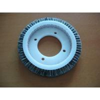 Wholesale Pure Bristle Stenter Brushes Wheel For Monforts Artos Bruckner LK Textiles Machine from china suppliers