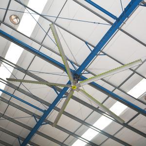 Buy cheap 3 Years Warranty Industrial Air Cooling Fan HVLS Ceiling Fan from wholesalers